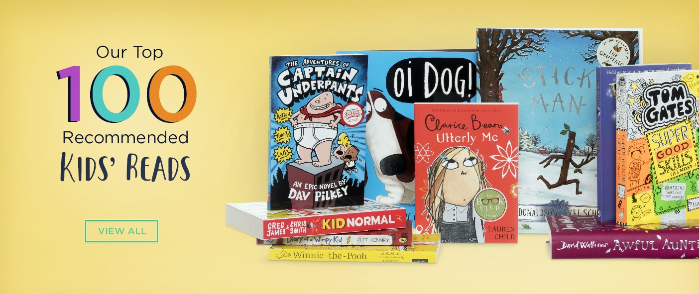 Our Top 100 Recommended Kids' Reads
