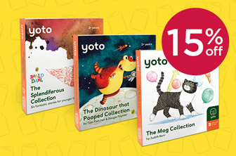 15% Off Yoto Story Card Packs