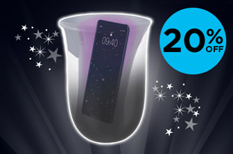 20% off Wireless Charging & UV Sanitising Station