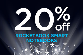 20% Off Rocketbook Smart Notebook