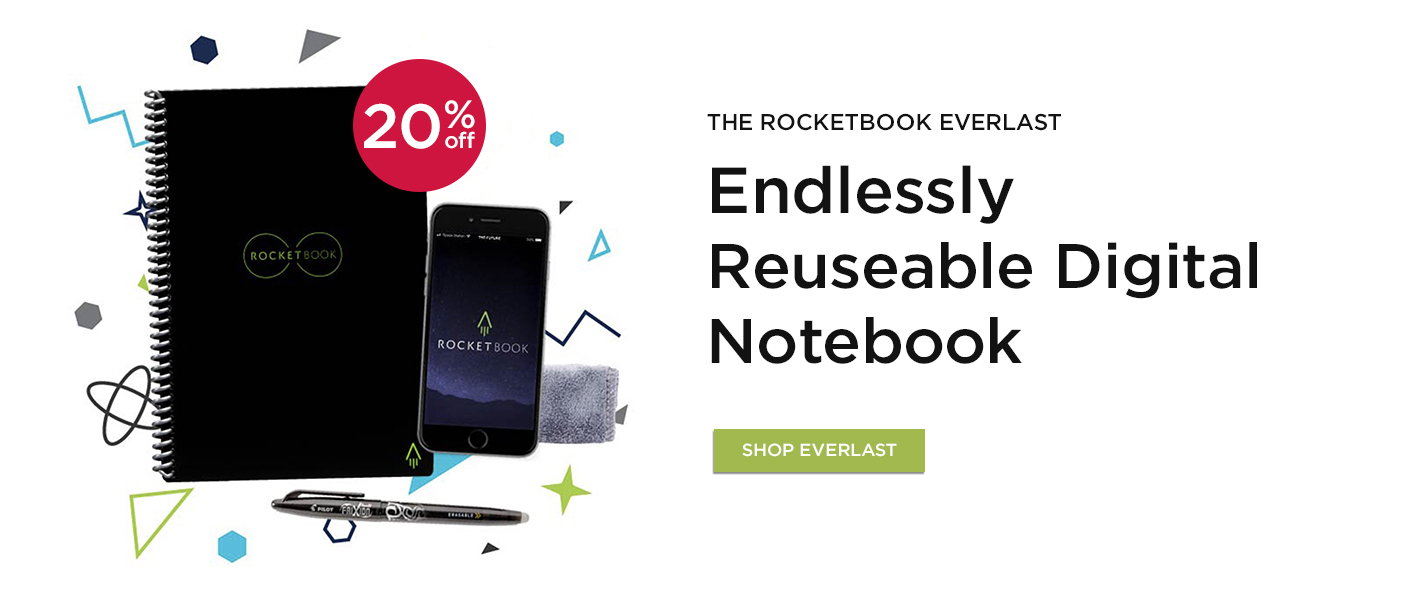20% Off Rocketbook Everlast