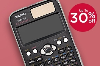 Up to 30% Off Casio Calculators