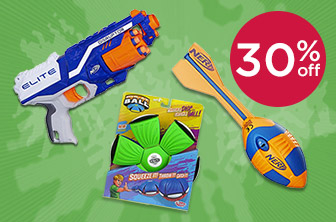 30% Off Outdoor Toys and Games