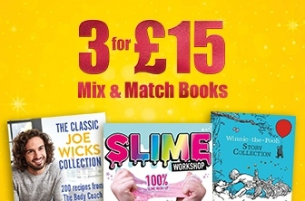 3 For £15 Mix & Match Books