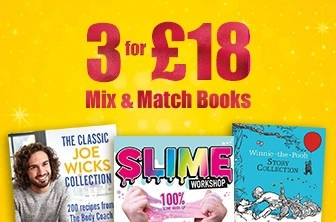 3 for £18 Mix and Match Books