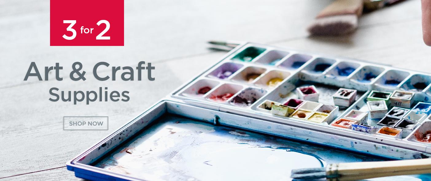 3 For 2 Art & Craft Supplies