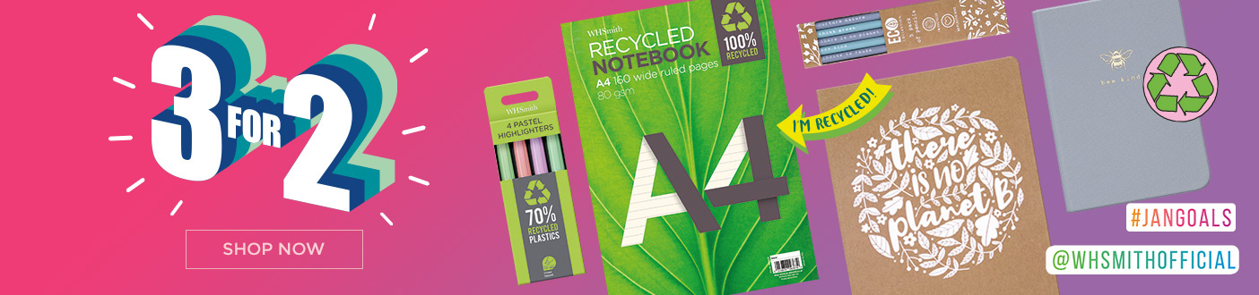 3 For 2 Eco Stationery