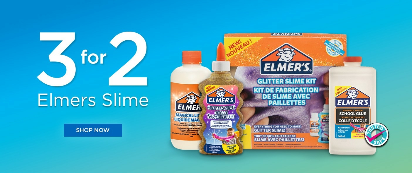 3 For 2 Elmer's Slime