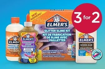 3 For 2 Elmer's Slime