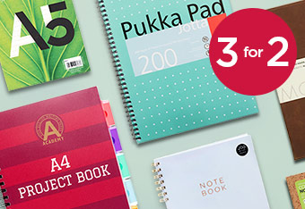 3 For 2 Notebooks & Pads
