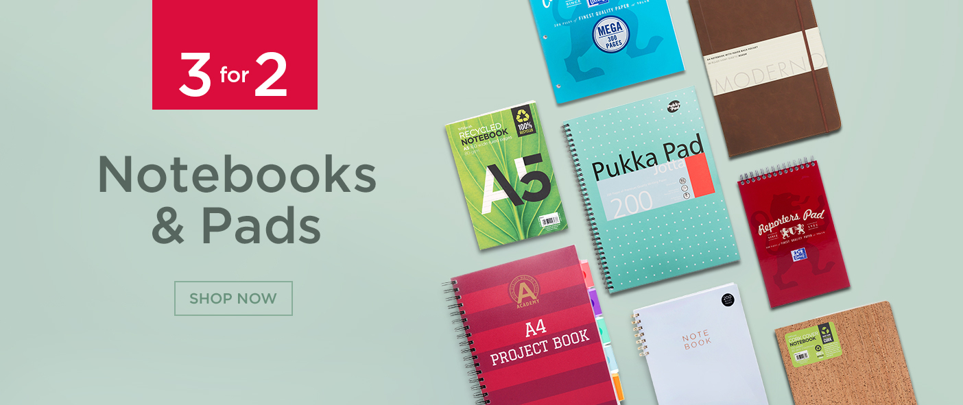 3 For 2 Notebooks and Pads