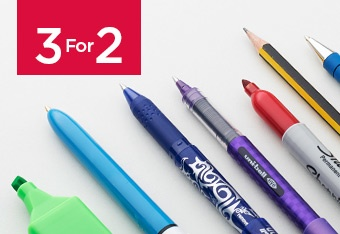 3 For 2 Essential Pens & Pencils