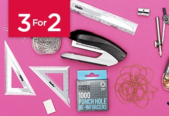 3 For 2 Stationery Essentials
