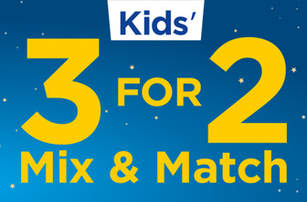 3 For 2 Mix and Match Kids' Art, Toys and Games