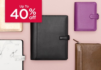 Up to 40% Off Filofax
