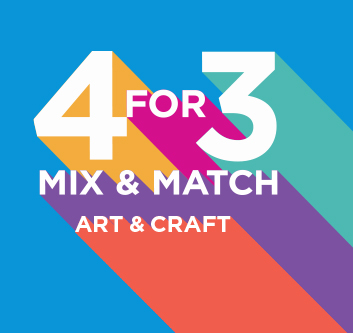 4 For 3 Mix and Match Art and Craft