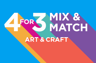 4 For 3 Art and Craft