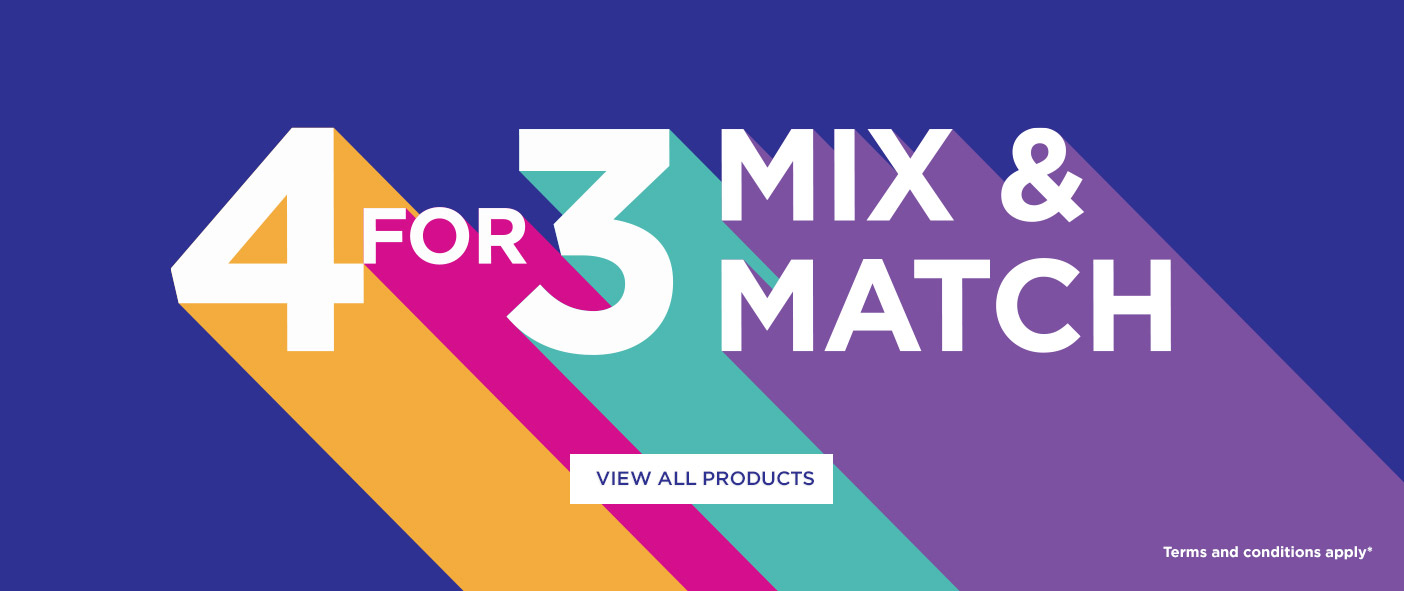 4 For 3 Mix and Match