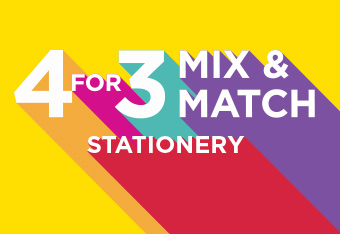 4 For 3 Mix and Match Stationery and Office