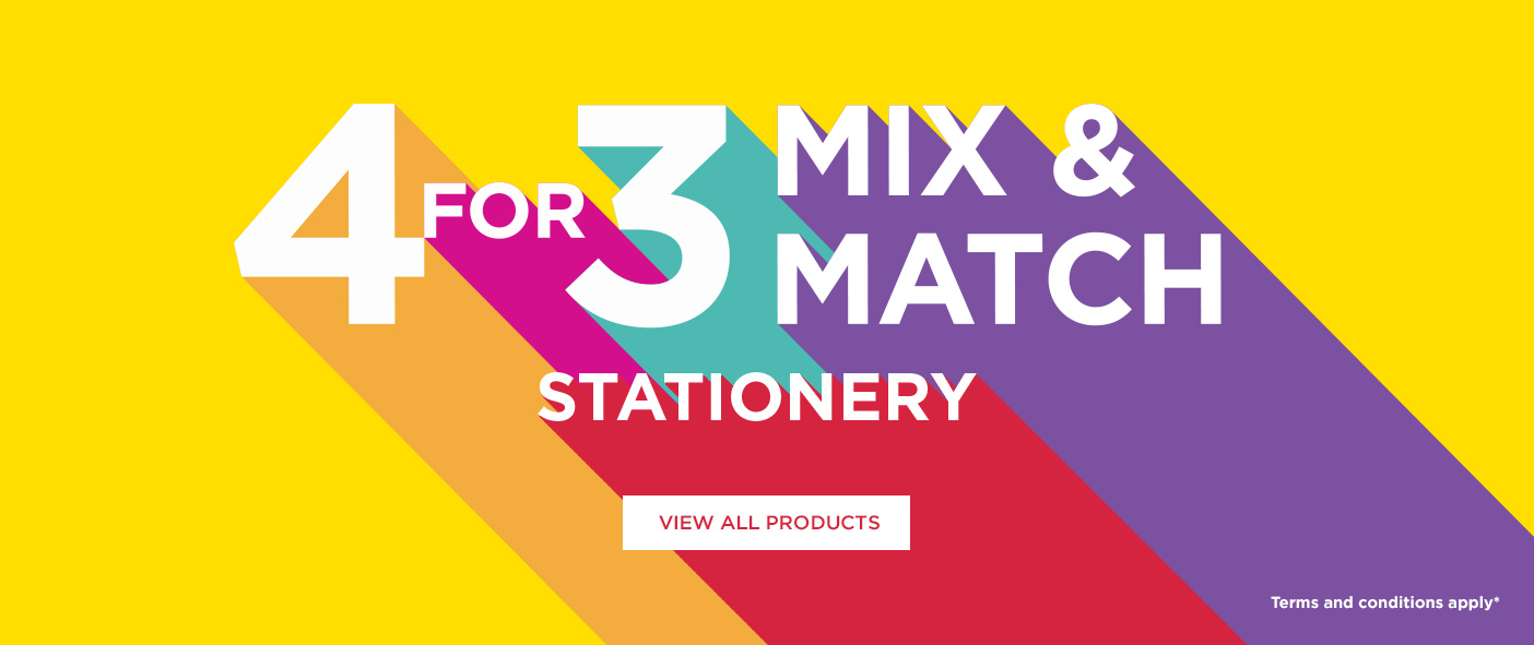 4 For 3 Mix and Match Stationery