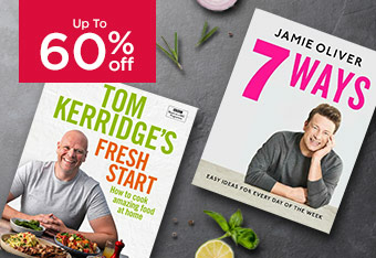 Up to 60% Off Cookery Books
