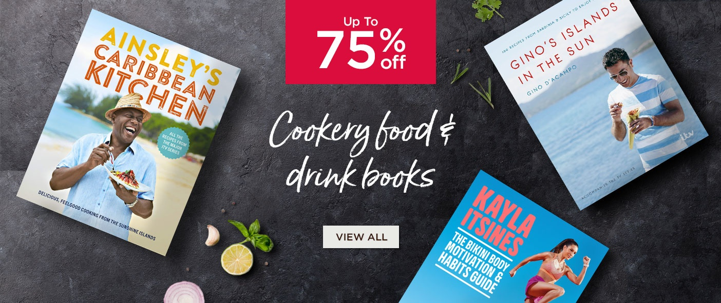 Up to 75% Off Cookery Food and Drink Books