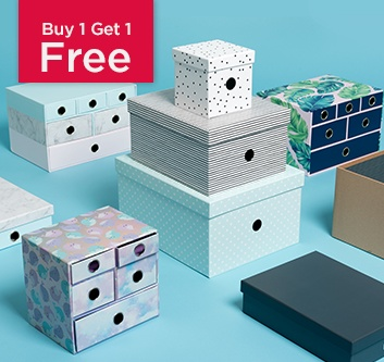 Buy 1 Get 1 Free Simply Stylish Storage