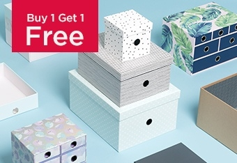 Buy 1 Get 1 Free Simply Stylish Storage