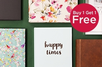 Buy 1 Get 1 Free Photo Albums and Frames