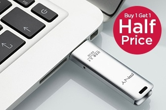 Buy 1 Get 1 Half Price USB and SD Cards