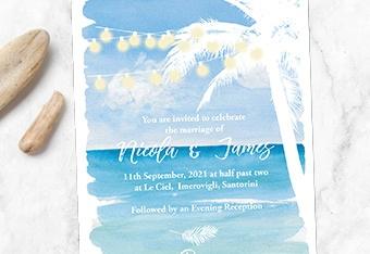 Beach Invites