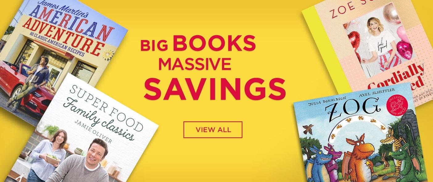 Big Books Massive Savings