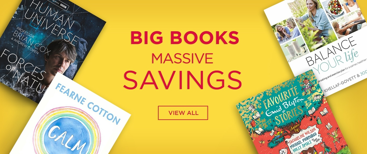 Huge Savings on Bestselling Books