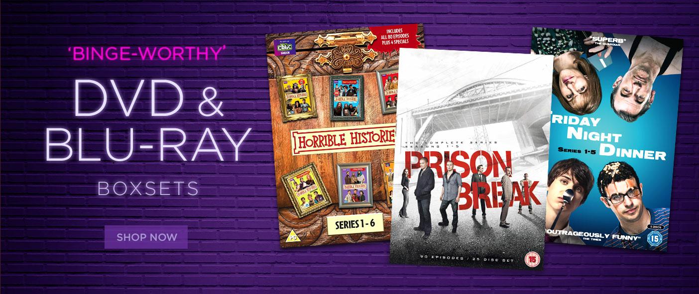 Binge Worthy DVD and Blu-Ray Boxsets