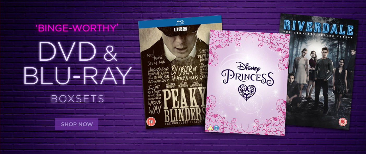 Binge-worthy DVD and Blu-Ray Boxsets
