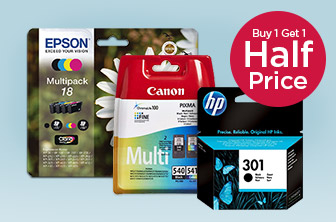 Buy 1 Get 1 Half Price Printer Ink