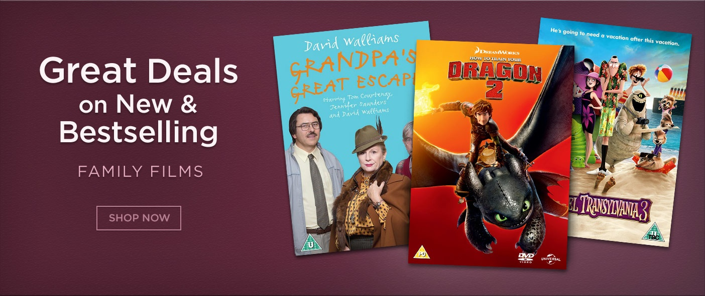 Great Deals on New & Bestselling Family Films