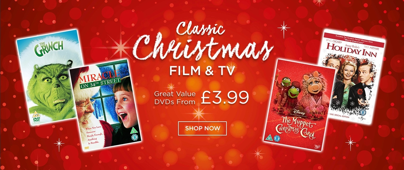 Great Value Christmas Film & TV on DVD
