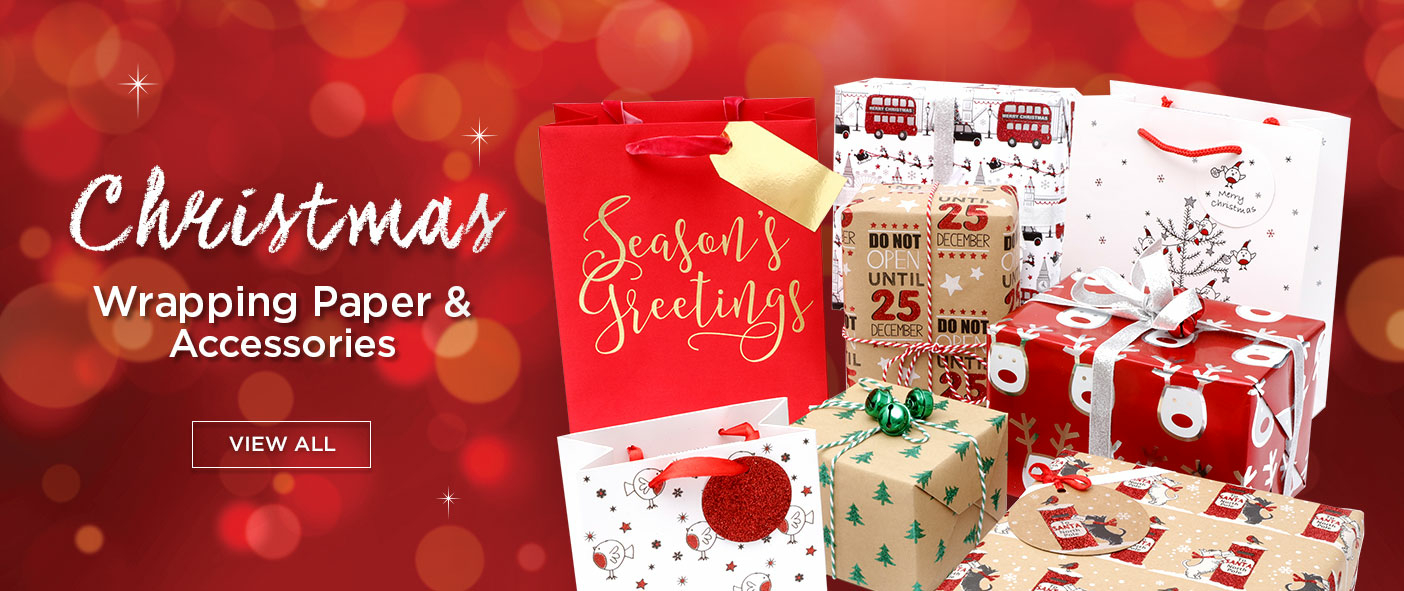 Christmas Wrapping Paper & Accessories