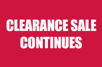 Clearance Sale Continues