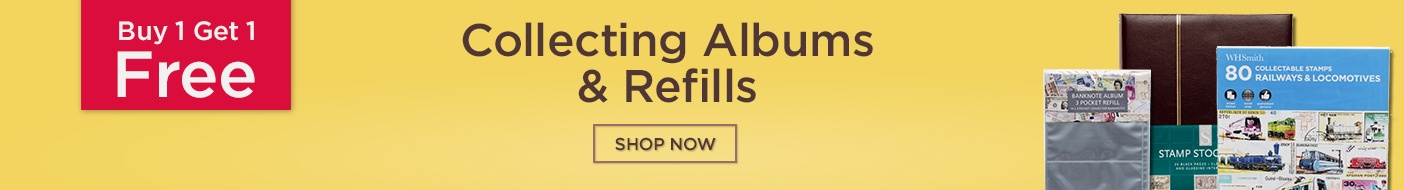 Up to Half Price Collecting Albums & Refills