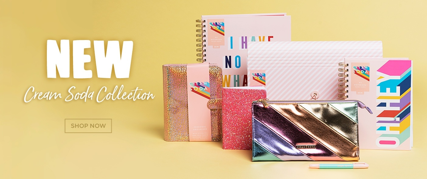 NEW - Cream Soda Stationery Collection