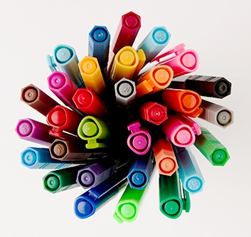Colouring Pens & Pencils