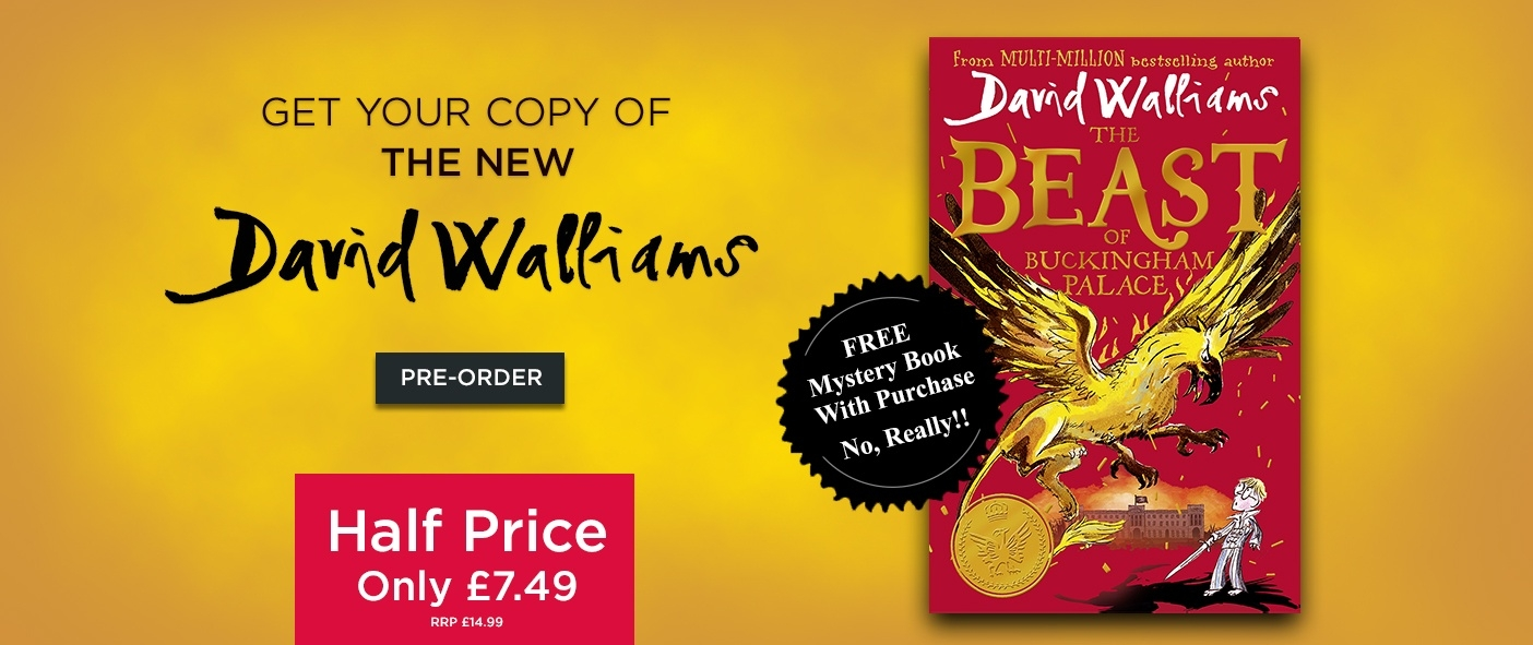 NEW The Beast of Buckingham Palace - Half Price Plus Free Book!