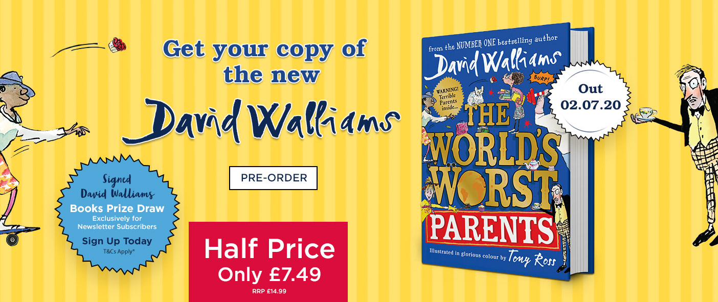 NEW From David Walliams The World's Worst Parents - Pre-Order Now!