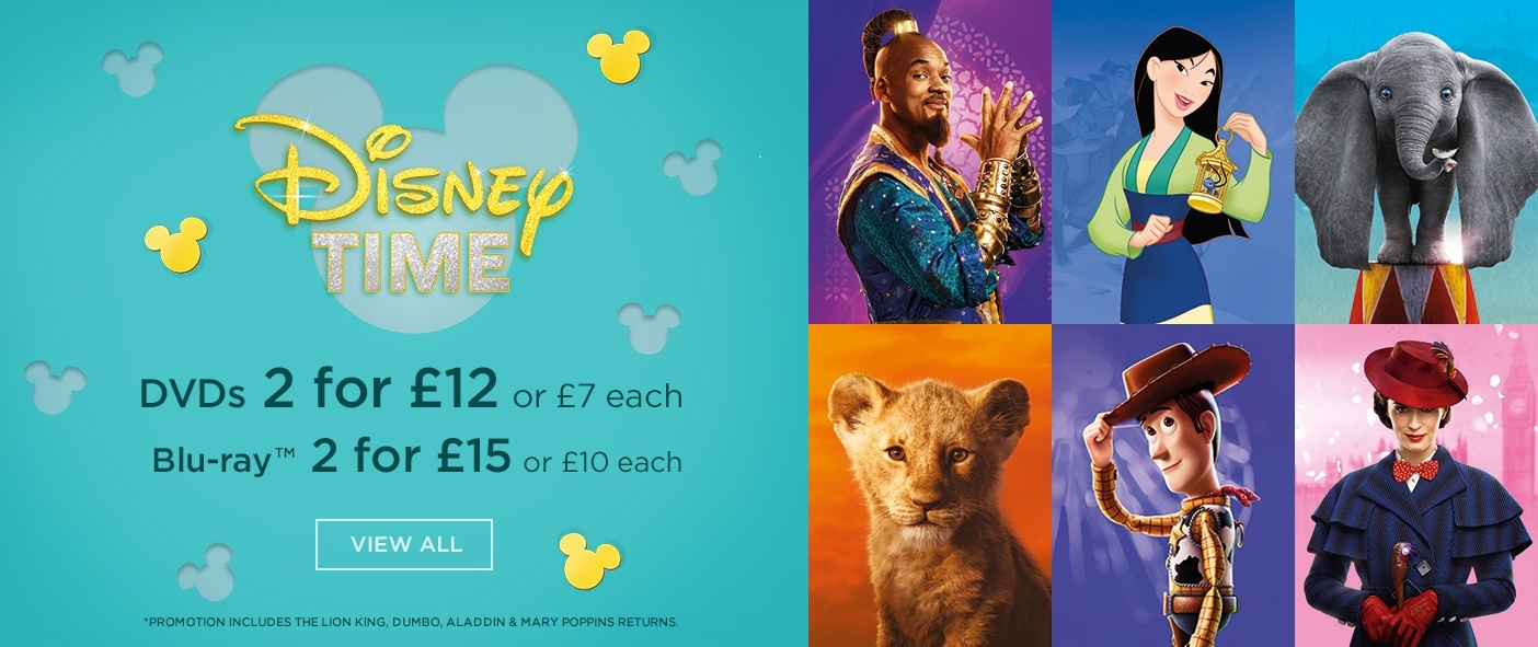 Disney Time Promotion on DVD and Blu Ray