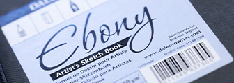 Ebony and Ivory Artist's Sketchbooks