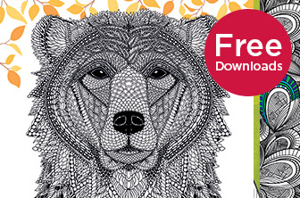 20 Free Advanced Colouring Downloads
