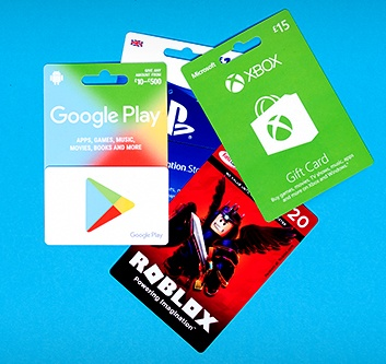 Gaming Gift Cards & Downloads