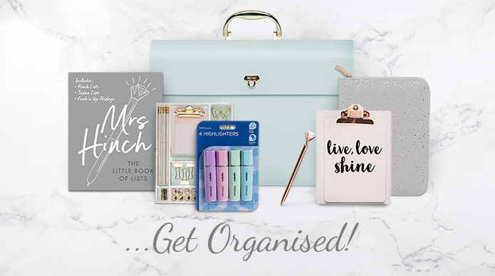 Get Organised with Spring Stationery